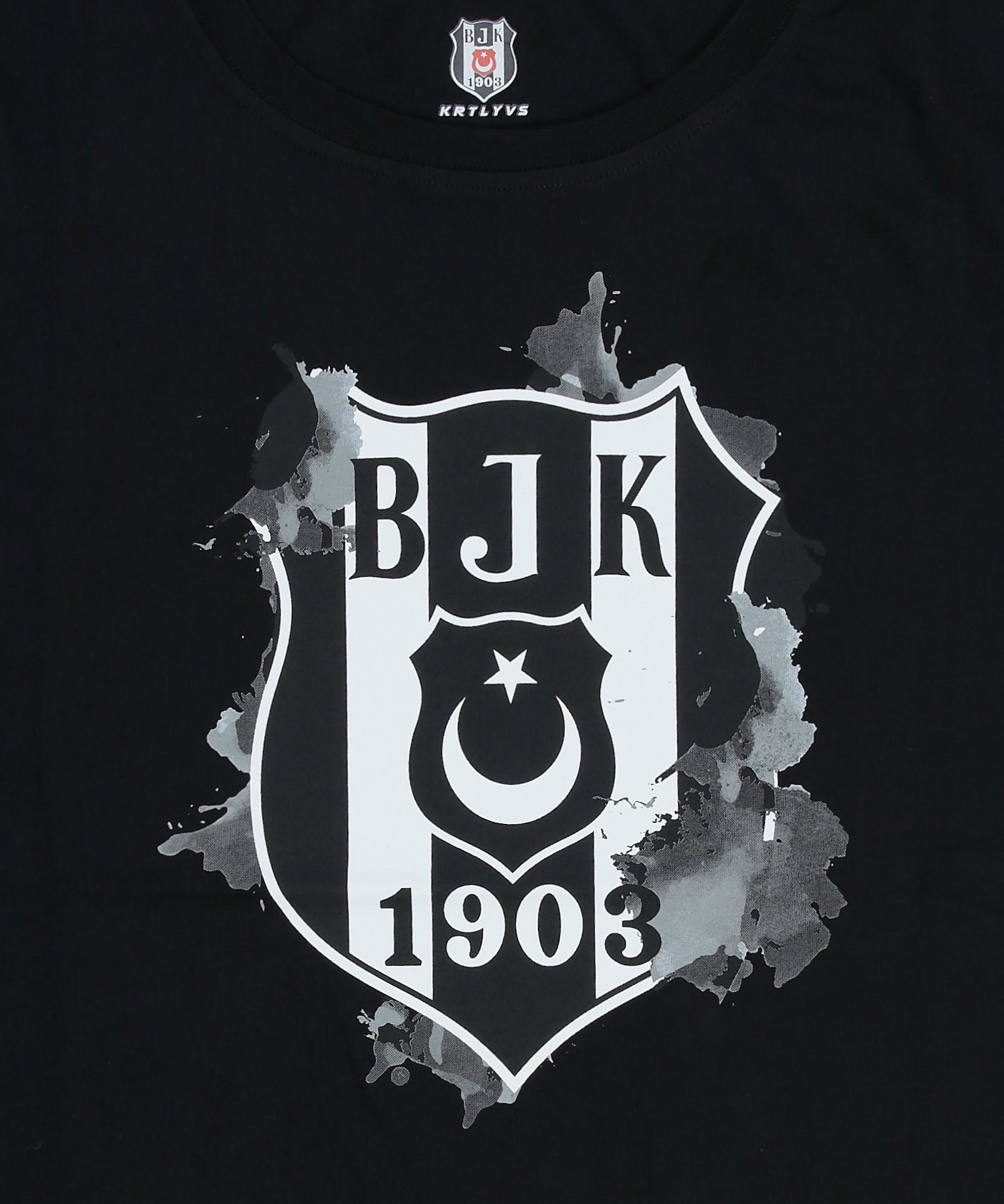 BEŞİKTAŞ EFEKT LOGO KADIN T-SHIRT  8121101