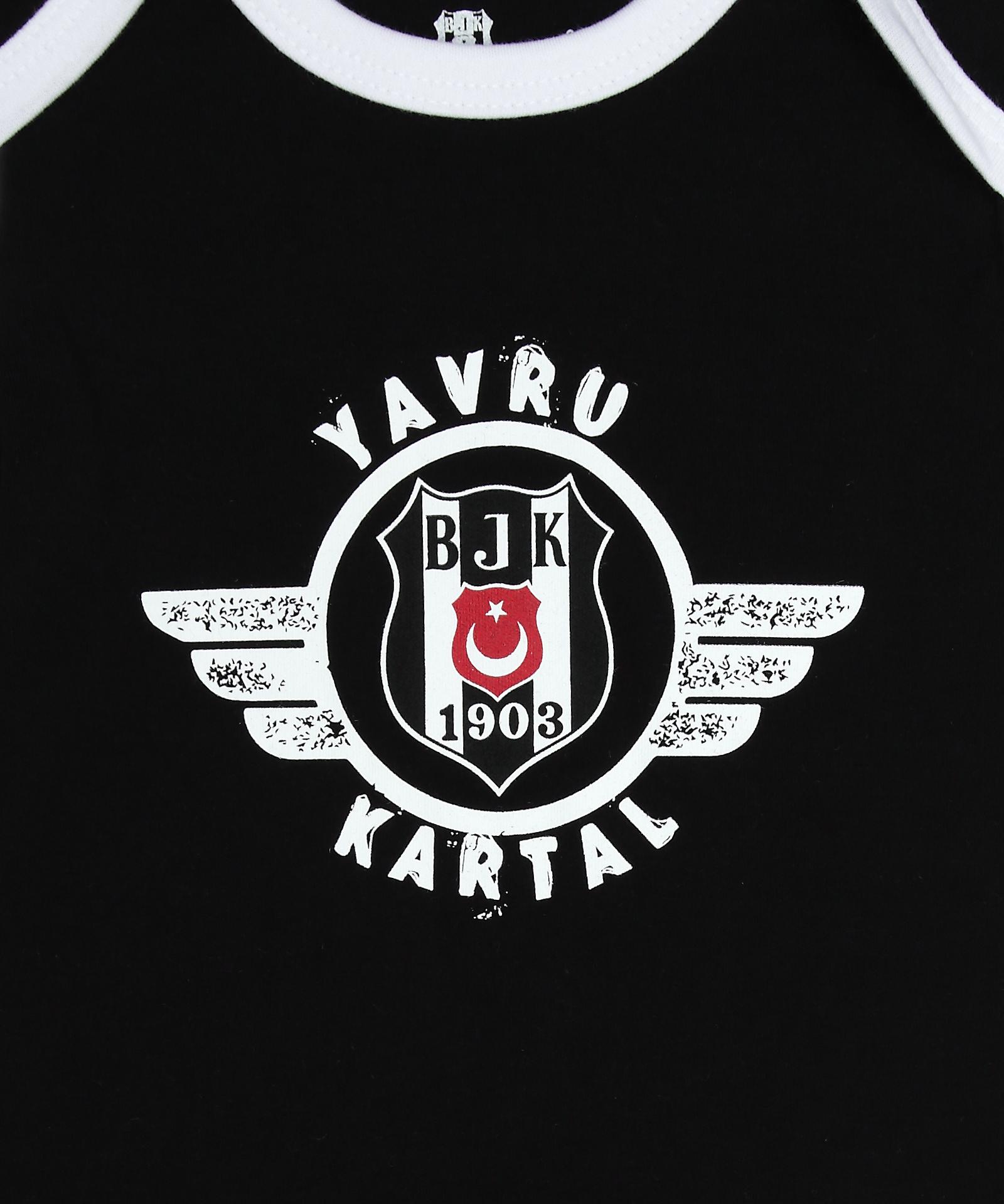 BEŞİKTAŞ  BEBEK KISA KOL BODY-Y21-109