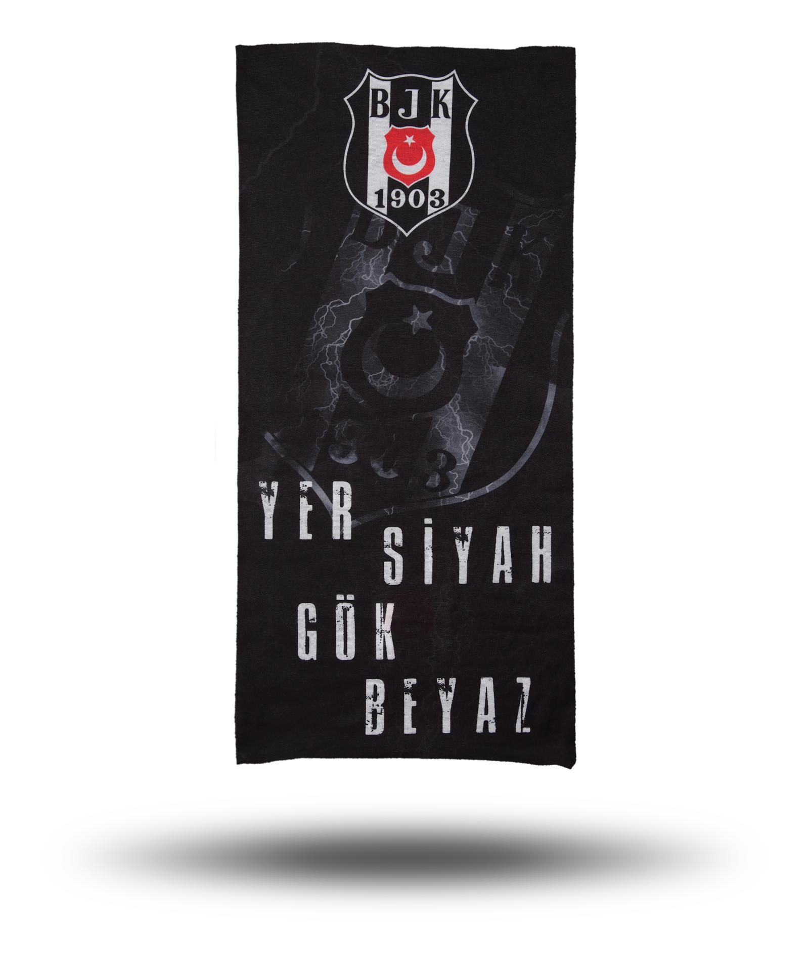 BEŞİKTAŞ YER SİYAH GÖK BEYAZ  BANDANA  2105