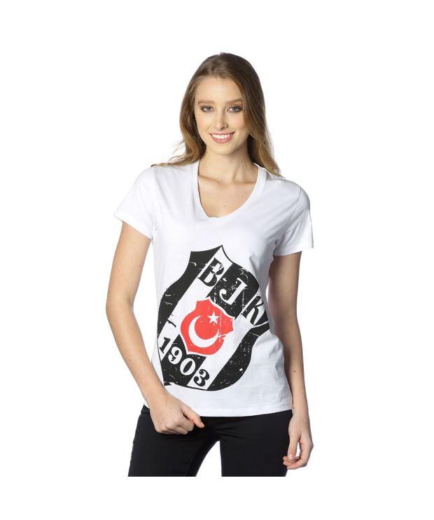 BEŞİKTAŞ DIAGONAL BASIC KADIN T-SHIRT 8717125