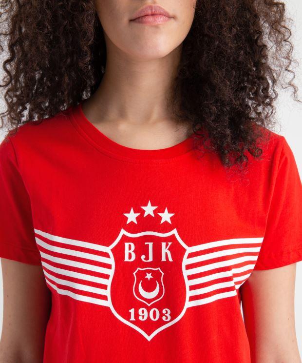 BEŞİKTAŞ ZAFER LOGO TONAL KADIN T-SHIRT 8919116