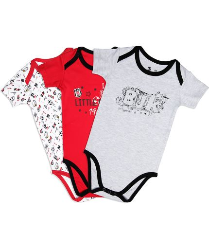 BEŞİKTAŞ BABY BODYSUIT SET 3 PCS Y19-108